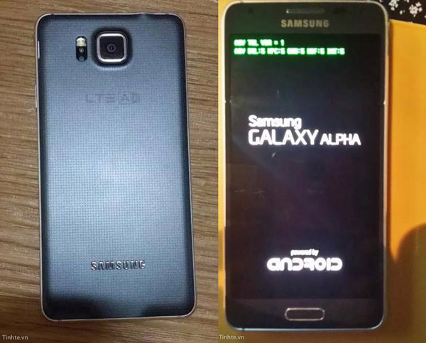 Samsung Galaxy Alpha SM-G850 leaked - Specification