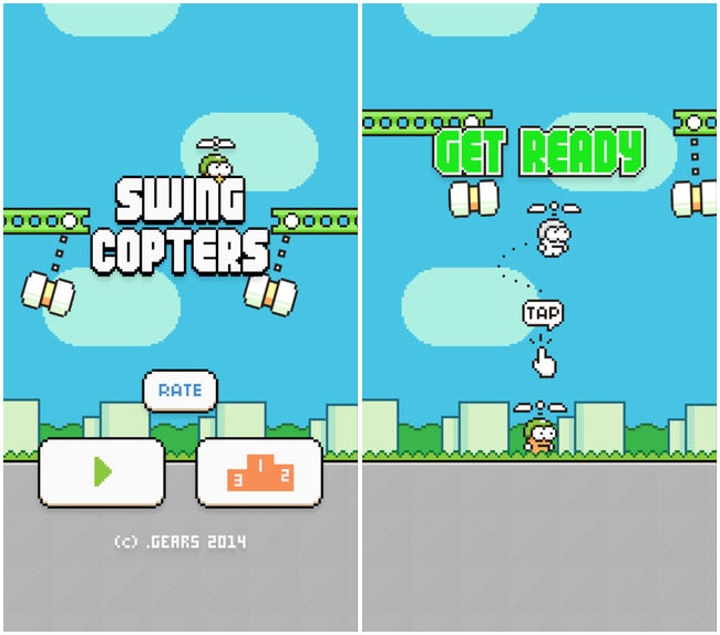 Swing Copters for Android now available for download