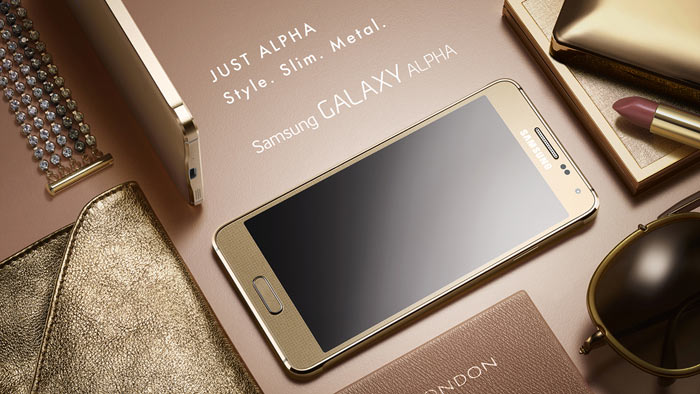 Samsung Galaxy Alpha Slim Premium Metal smartphone announced