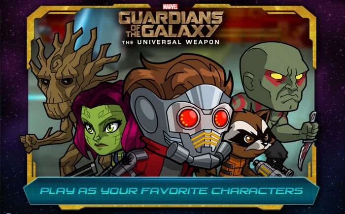 Guardians of the Galaxy game goes on sale this weekend