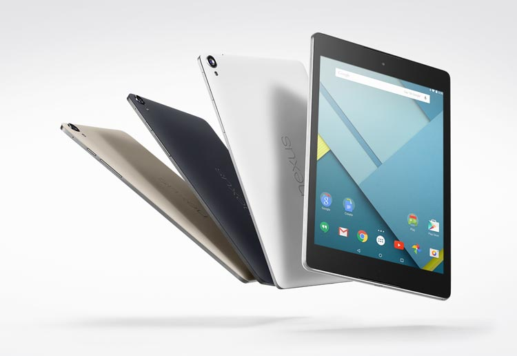 Google Nexus 9 specs, features, and price
