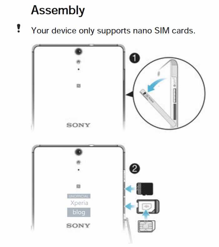 Sony Xperia C5 Ultra Leaked in User Guide -03